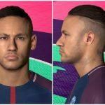 فیس Neymar توسط Ahmed برای PES 2017