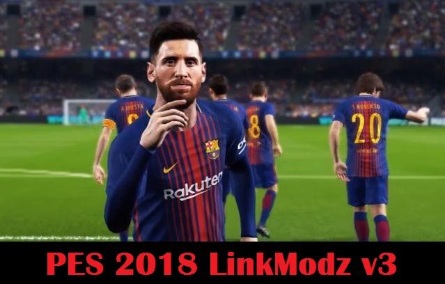 پچ LinkModz v3 برای PES 2018 (مخصوص PS3)