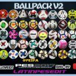 پک توپ v2 توسط LPE برای PES 2017