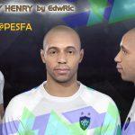 فیس Thierry Henry توسط EdwRic برای PES 2018