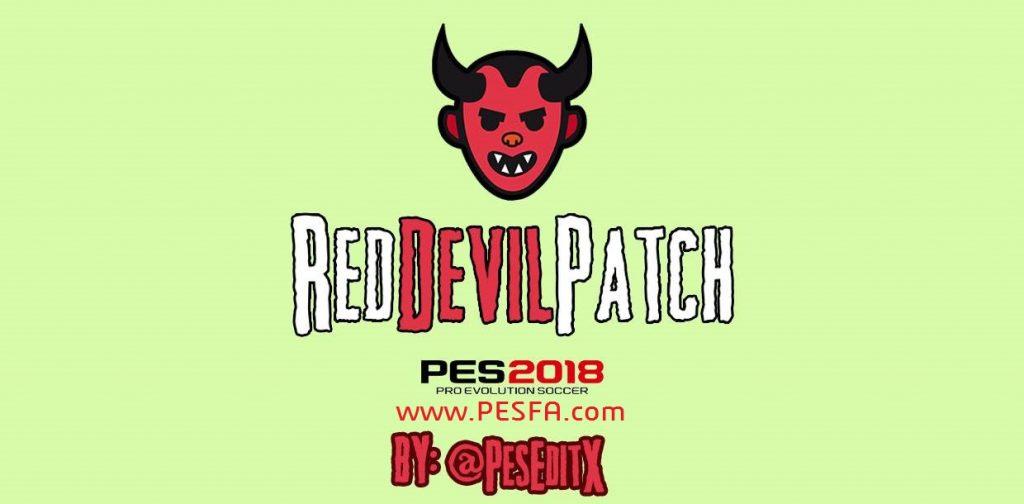 پچ RedDevil v4.0 برای PES 2018 (مخصوص Xbox360)