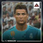 فیس Ronaldo توسط benHUSSAM برای PES 2017