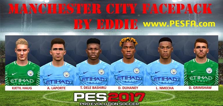 فیس پک Manchester City توسط Eddie برای PES 2017