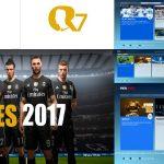 منو گرافیکی Real Madrid توسط علیرضا قدیانی برای PES 2017