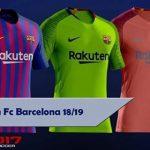 کیت پک Barcelona 2018-19 توسط Perez برای PES 2017