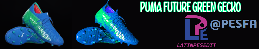 کفش Puma Future Green Gecko توسط LPE برای PES 2017/18