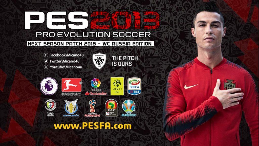 پچ Next Season World Cup 2018 برای PES 2013