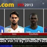 فیس پک Vol 10 توسط Orlando برای PES 2013