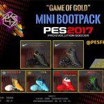 پک کفش Game Of Gold توسط AKC_47 برای PES 2017