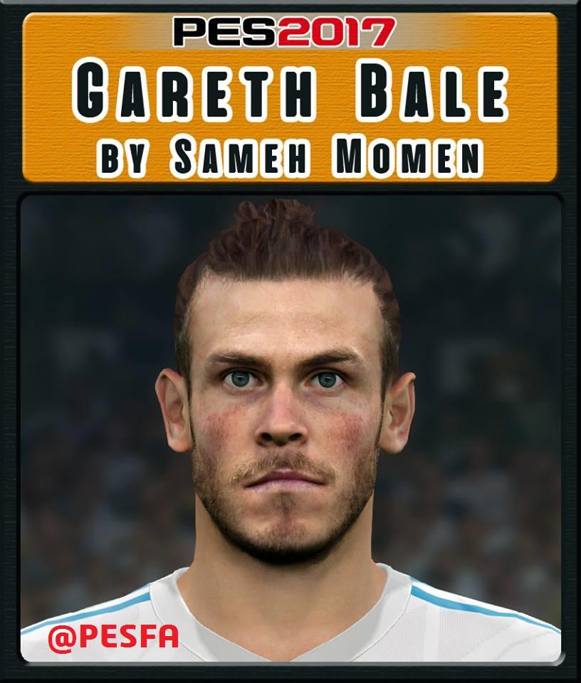 فیس Gareth Bale توسط Sameh Momen برای PES 2017