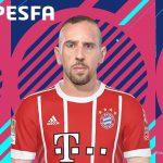 فیس Franck Ribéry توسط kelvinchan برای PES 2018