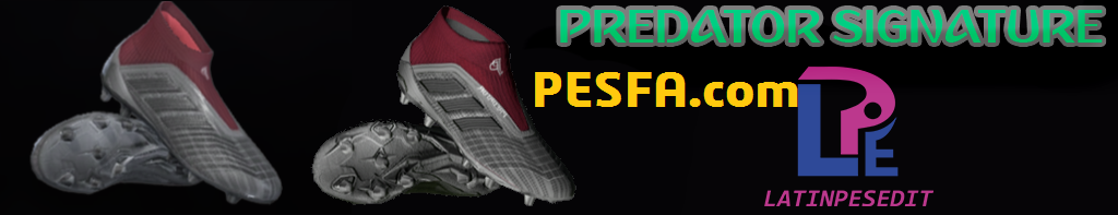 کفش Paul Pogba Predator Signature توسط LPE برای PES 2017/18