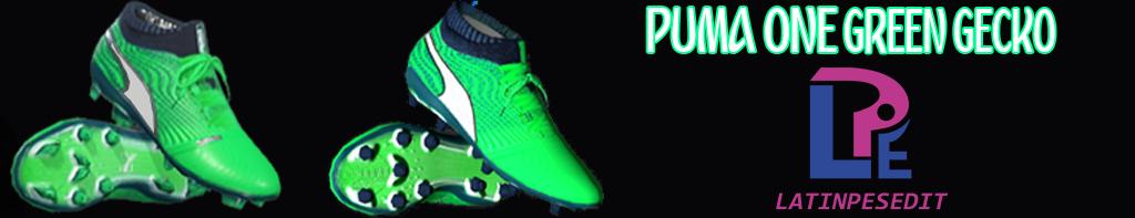 کفشPuma One Green Geckoتوسط LPE برای PES 2017/18