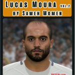 فیس Lucas Moura توسط Sameh Momen برای PES 2017