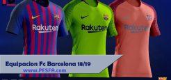 کیت پک Barcelona 18/19 توسط FB برای PES 2017