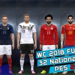 کیت پک جام جهانی 2018 توسط Luca19 برای PES 2015