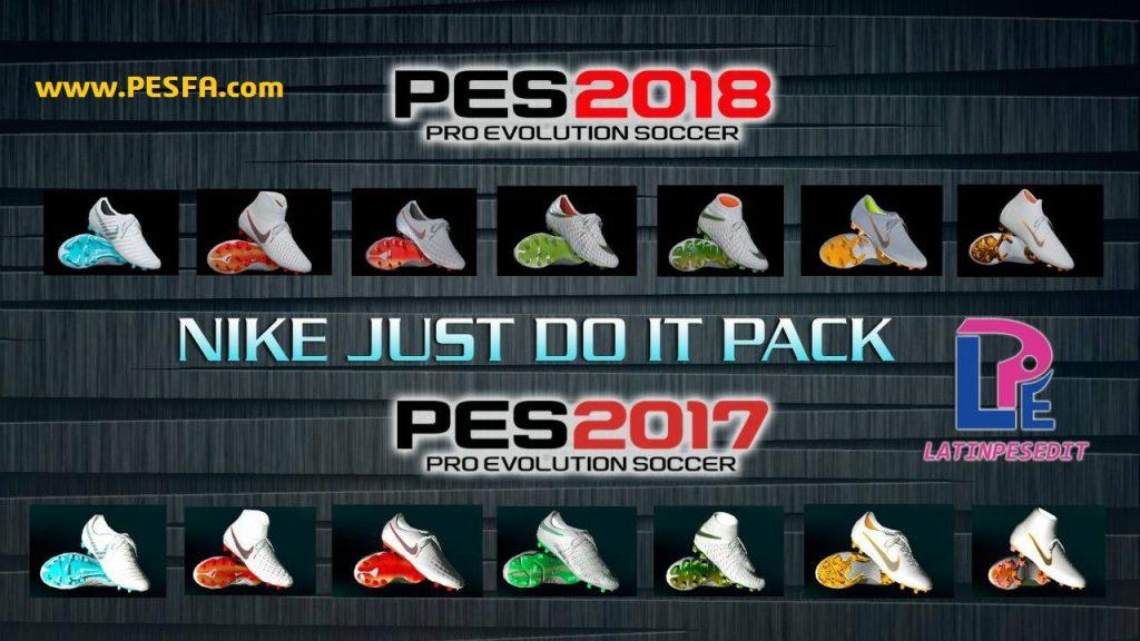 پک کفش Nike Just Do It توسط LPE برای PES 2017/18