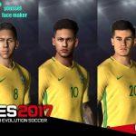 مینی فیس پک Brazil توسط Youssef برای PES 2017