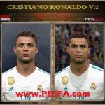 فیس Cristiano Ronaldo v2 توسط Mo Ha برای PES 2017
