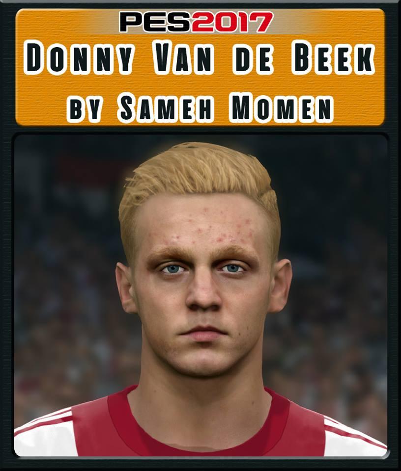 فیس Van De Beek توسط Sameh Momen برای PES 2017
