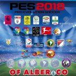 آپشن فایل Alber & CO v6 برای PES 2018 (مخصوص PS4)