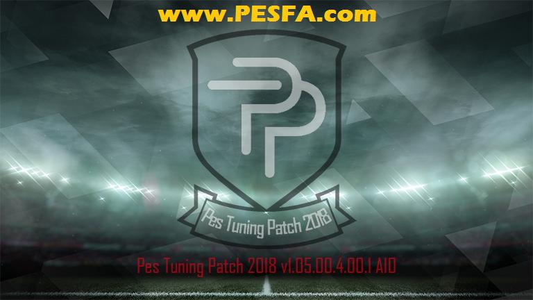 پچ حجیم Pes Tuning v1.05.00.4.00.1برای PES 2018 + فیکس