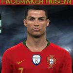 فیس Cristiano Ronaldo توسط Huseyn برای PES 2017