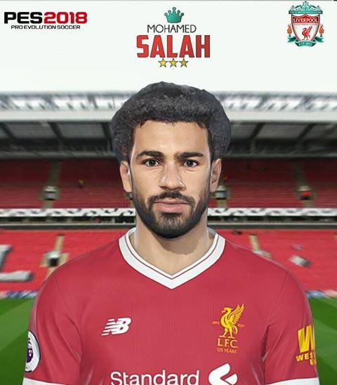 فیس Mohamed Salah توسط Pradeep برای PES 2018