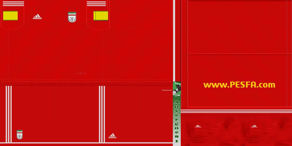 کیت پک تیم های ملی v22.05 توسطAuvergne81برای PES 2013