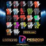 پک دستکش v1 توسط LPE برای PES 2018