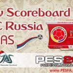 اسکوربورد جام جهانی روسیه توسط JAS برای PES 2017