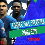 فیس پک تیم ملی فرانسه 2018/19 توسط Micano4u برای PES 2013