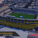 استادیومLa Bomboneraتوسط BlackBull برای PES 2017