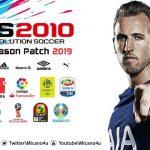 پچ Next Season 2019 برای PES 2010
