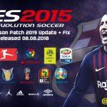 پچ Next Season 2019 برای PES 2015