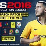 پچ Next Season 2019 برای PES 2016