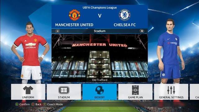 فایل فیکس برای 3 استادیوم منتشر شده PES 2018