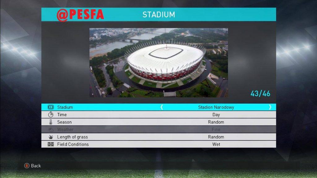 استادیوم پک MjTs v2 برای PES 2018