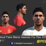 فیس Asensio توسط Maddah برای PES 2013