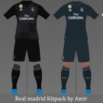 کیت Real Madrid 18/19 توسط Amir برای PES 2017