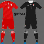 کیت پک جام جهانی تیم ملی ایران توسط Amir برای PES 2017