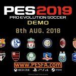 معرفی کامل دمو PES 2019