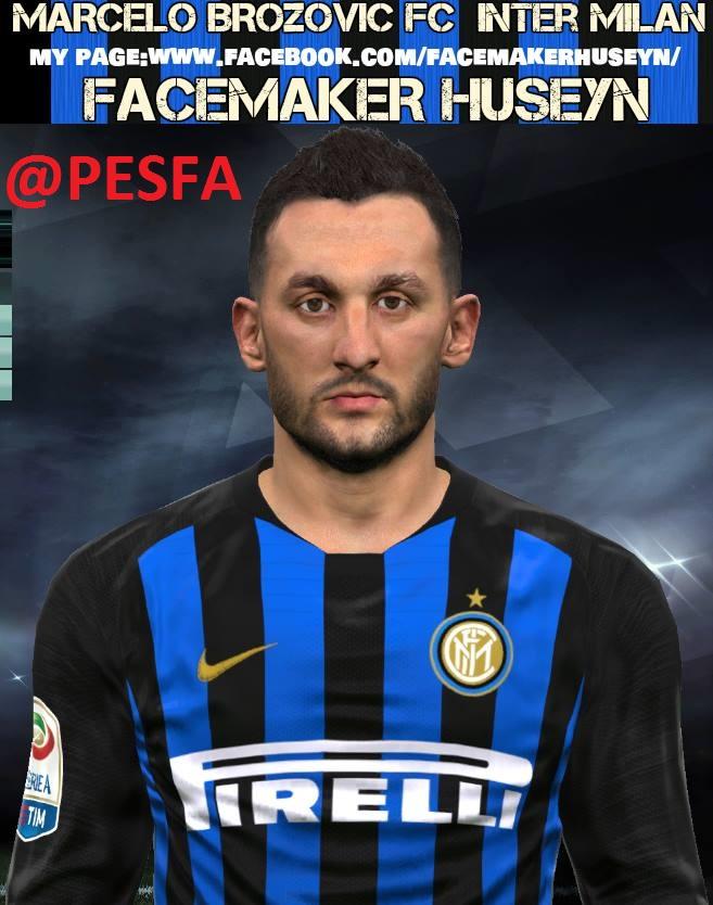 فیسBrozovićتوسط Huseyn برای PES 2017