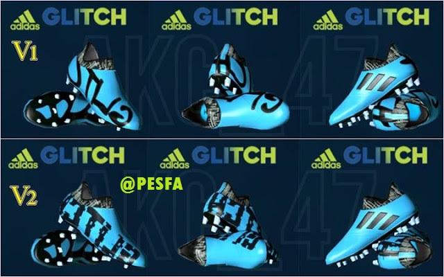 کفش Adidas Glitch Dybala توسط AKC47 برای PES 2017