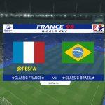 منو جام جهانی 1998 توسط Vieri32 برای PES 2017