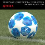 توپ Champions League 2018/19 توسط Amir KASEB برای PES 2017