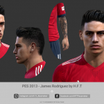 فیس James Rodríguez توسط H.F.T برای PES 2013