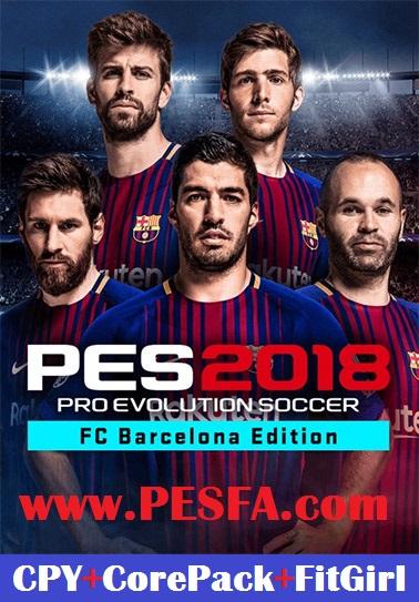 دانلود نسخه کامل PES 2018 با لینک مستقیم برای PC
