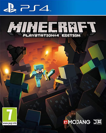 بازی Minecraft PlayStation 4 Edition