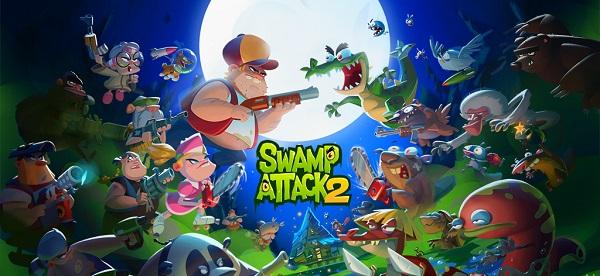بازی Swamp Attack